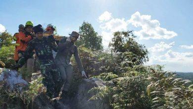 Photo of Helikopter Jatuh di Batu Dinding Bukit Soeharto, Dua Selamat, Dua Meninggal Dunia