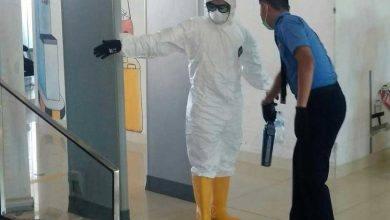 Photo of Kronologis Orang Berpakaian APD Lengkap Ketinggalan Pesawat di Bandara APT Pranoto