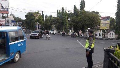 Photo of Jelang Lebaran di Tengah Pandemi, Arus Kendaraan Kembali Ramaikan Samarinda