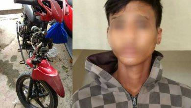 Photo of Belum Sepekan Tunggangi Motor Curian, Tertangkap Polisi Meski Sudah Tak Utuh