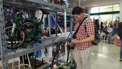 Photo of Berkah Berlipat Penjual Sepeda di Masa Pandemi, Folding Bike Paling Diburu