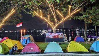 Photo of Wajah Sepi Mahakam Lampion Garden di Tengah Pandemi, Sehari Kurang 85 Pengunjung