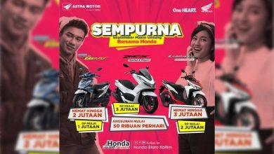Photo of Astra Motor Kaltim 2 Beri Promo Sempurna, DP Makin Ramah Kantong