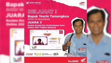 Photo of Tenaga Pendidik Asal Samarinda Juarai Kompetisi Guru Online AHM 2021