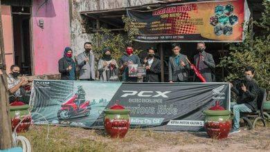 Photo of Beri Bantuan Modal UMKM, Astra Motor Kaltim 2 Gaet Komunitas PCX